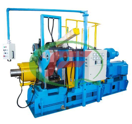 Aluminum clad steel continuous extrusion machine