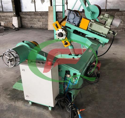Steel reel machine